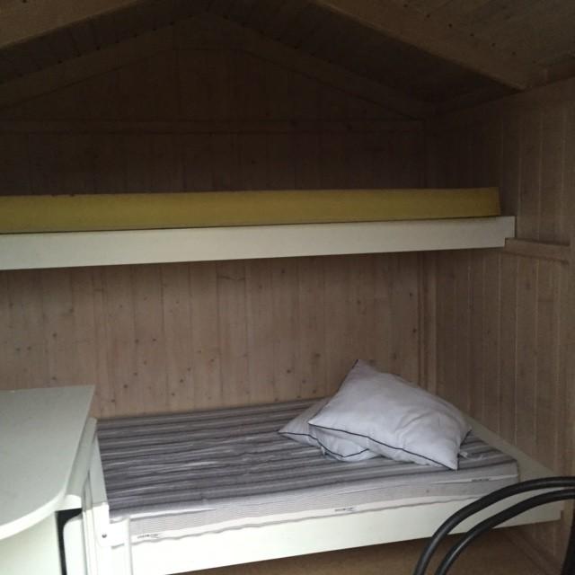 Hytte med 2 sengeplasser