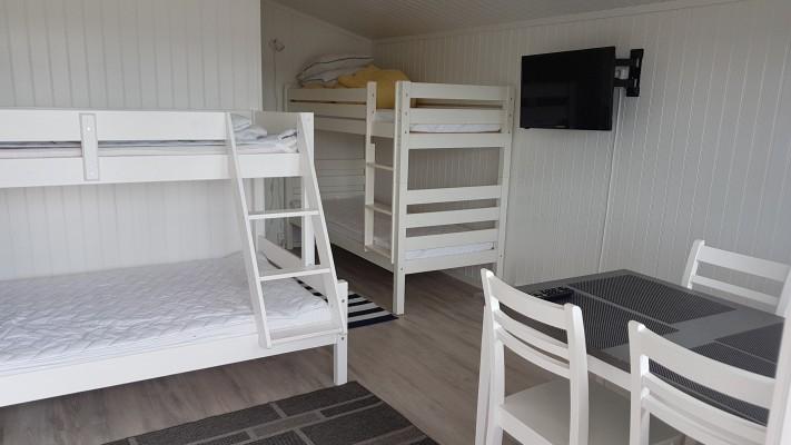 Hytte med 4 sengeplasser og dusj